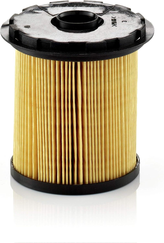 Original MANN-FILTER Filtro de Combustible PU 822 x – Set de Filtro de Combustible Juego de Juntas – Para automóviles