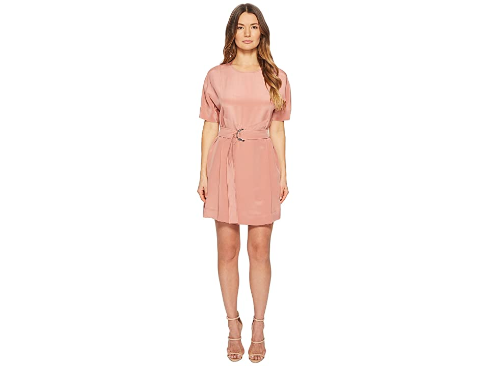 Sportmax Teruel Short Sleeve Dress (Farid Pink) Women