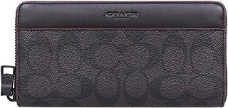[コーチ] COACH 財布 (長財布) F25517 ブラック×ブラックオックスブラッド N3A シグネチャー 長財布 メンズ レディース [アウトレット品] [並行輸入品]