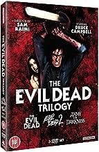 Evil Dead Complete All Movie Film DVD Trilogy Collection [3 Discs] Box set: Part 1, Part 2: Dead By Dawn, Part...