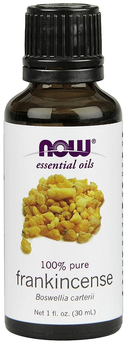 叱る議題表面NOW Foods エッセンシャルアロマオイル フランキンセンス 30ml Frankincense Oil 海外直送 [並行輸入品]