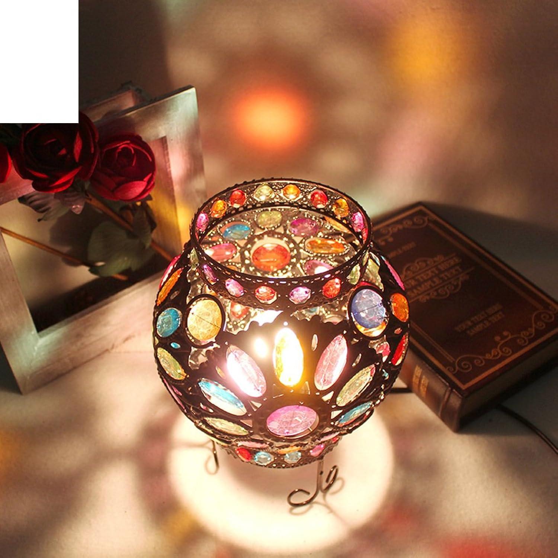 Sphrische Retro Creative Lampe Schlafzimmer Nachttischlampe Bar Lamp Kinderzimmer Lampe