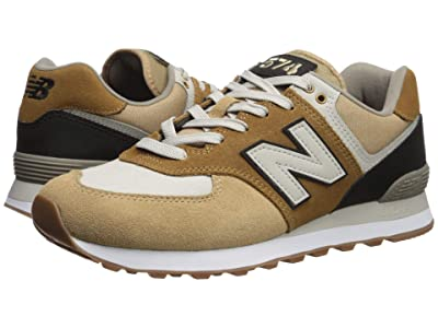 New Balance Classics 574v2-USA (Hemp/Black) Men