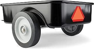 John Deere Steel Pedal Tractor Black
