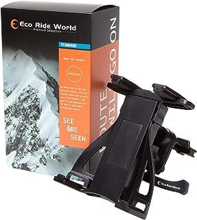 Eco Ride World エアコン吹き出し口取付タイプ 車載タブレット ホルダー 安全バンドゴム付き is_099