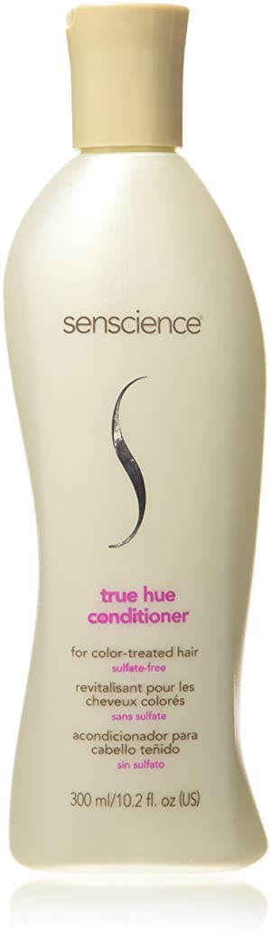 雑品家庭メジャーConditioner by Senscience True Hue Conditioner For Colour Treated Hair 300ml by Senscience