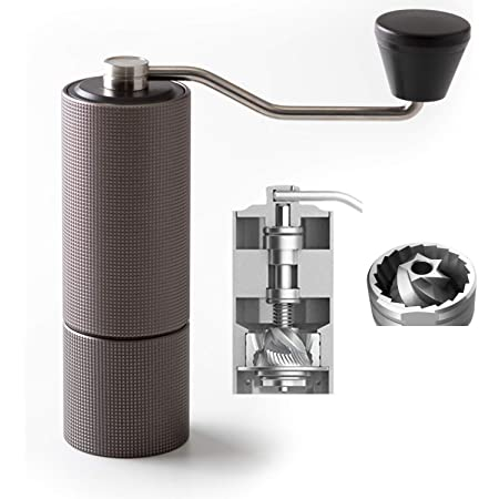 TIMEMORE Chestnut C2 Manual Coffee Grinder Capacity 25g with CNC Stainless Burr