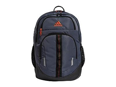 adidas Prime V Backpack (Onix/Black/Solar Red) Backpack Bags