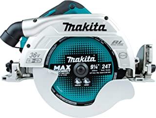 Makita DHS900Z Twin 18V (36V) Li-ion LXT 235mm Brushless Circular Saw - Batteries, Charger and Wirelss Unit Not Included