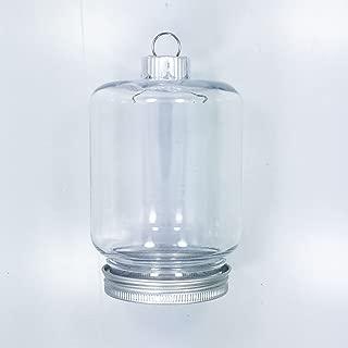 clear mason jar ornaments