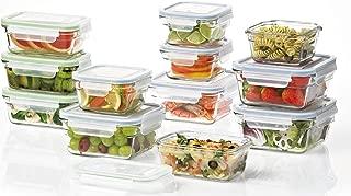 Best glasslock premium food storage boxes, 18 piece set Reviews