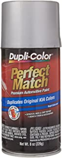 Dupli-Color BKA0002 Satin Silver Metallic Kia Perfect Match Automotive Paint-Aerosol, 8. Fluid_Ounces