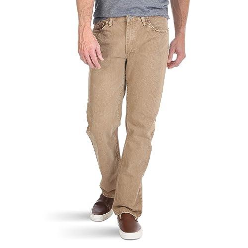 Beige Jeans: