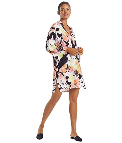 N by Natori Tea Garden Sleepshirt (Black) Women