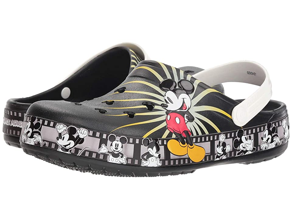 Crocs Crocband Mickey 90th Clog (Black) Clog Shoes