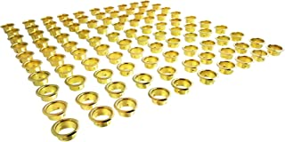 144 of each part CS Osborne Nickel Plated Solid Brass Eyelets /& Washers Bulk Pk