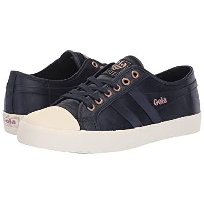 Gola Coaster Satin (Navy/Off-White) Women