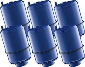 AQUACREST RF-9999 Water Filter, Compatible with Pur RF-9999 Faucet Replacement Water Filter (Pack of 6)