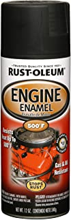 Rust-Oleum 248938 Automotive Rust Preventive Engine Enamel Spray Paint, 12 Oz Aerosol..