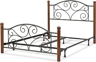 murray platform bed nightstand