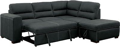 Amazon Com Furniture Of America Charlton Contemporary