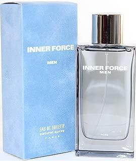 Glenn Perri Inner Force Blu Amber Eau De Toilette Spray for Men 3.4 Oz