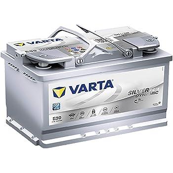 Batteria auto Varta - E39 (096) Start-Stop Plus AGM .: Amazon.it