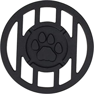 Northlight Seasonal 9500301 Pawprint Sports Mascot Inspired Round Branding Grill Iron Accessory