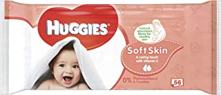 HUGGIES Soft Skin Baby Wipes 56/ea - 4 Count