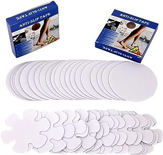 40PCS Bathtub Stickers Non-slip -2 Shape Decals - Anti Slip Bath Stickers Shower Grip Stickers For Kids, Safety Strips Bat...