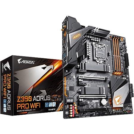 GIGABYTE Z390 AORUS PRO Wi-Fi (Intel LGA1151/Z390/ATX/2xM.2 Thermal Guard/Onboard AC Wi-Fi/RGB Fusion/Gaming Motherboard)