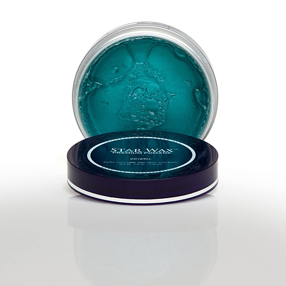 ジョセフバンクス過言アクセサリーStar Wax | Premium Pomade, Crystal(スターワックスプレミアム ポマード「クリスタル」)?Star Pro Line(スタープロライン)製?5(液量)オンス/150ml