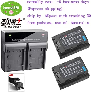 AU-Ship KEENKI 2 x NP-FZ100 Z Series Rechargeable Battery Pack + LED Dual Charger for Sony NPFZ100 BC-QZ1 A7RM3 A7R III ILCE-A9 ILCE-9 ILCE9 Alpha A9 Digital Camera