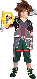 Sora Halloween Costume for Boys, Kingdom Hearts, Includes Accessories