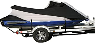 SavvyCraft Custom Fit Jetski Cover Trailerable Personal Watercraft Cover Fit Yamaha