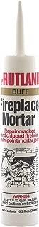 Rutland Products Rutland Fireplace Mortar 10.3 Oz Cartridge (Buff),