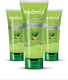 Medimix Ayurvedic Everyday Face Scrub, 100ml (Pack of 3)