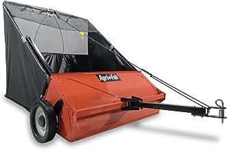 Agri-Fab 45-0521 42-inch Premium Tow Lawn Sweepr, Orange & Black
