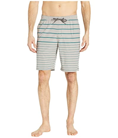 Quiksilver Waterman Suva Stripe Amphibian 20 (Flint Gray) Men