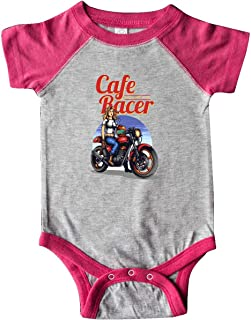 inktastic Cafe Woman Racer Infant Creeper