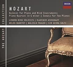 Mozart: Piano & Wind Quintet, Piano Quartet No.1 etc