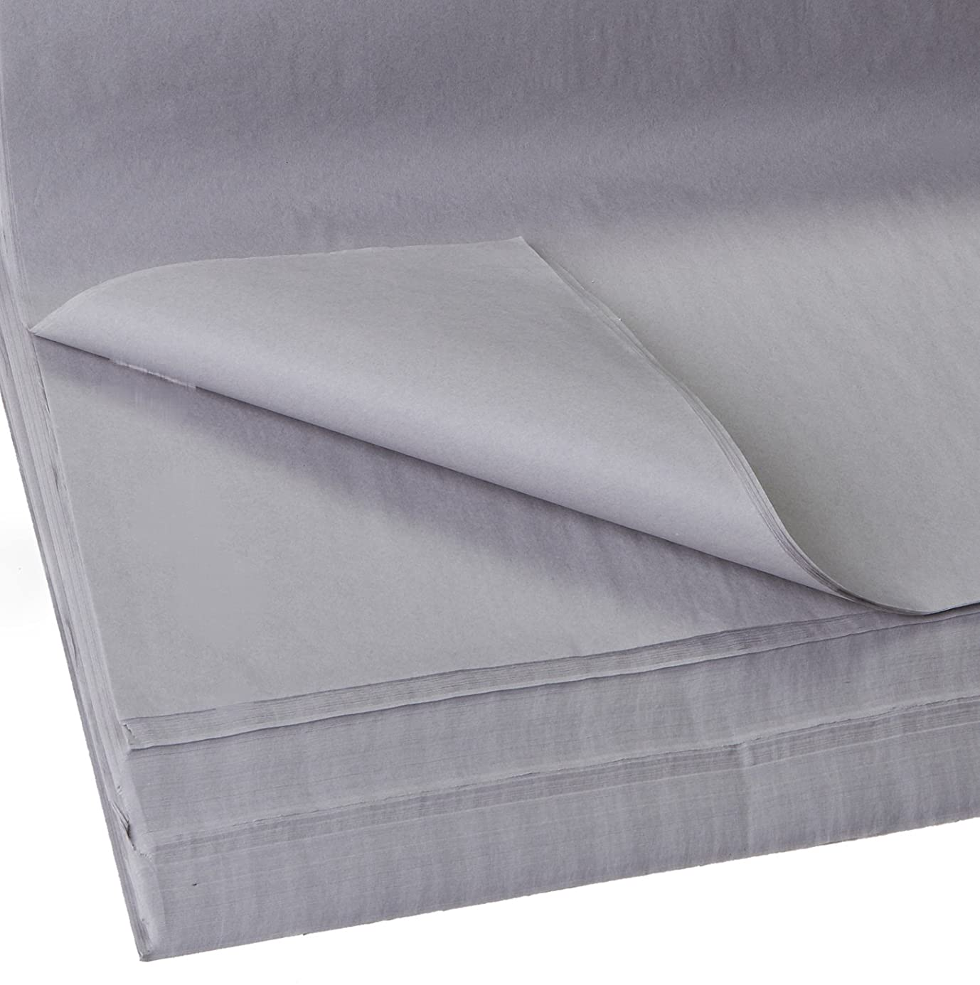 Jillson Roberts Bulk 20 x 30 Inches Recycled Tissue Available in 28 Colors, Gray, 480 Unfolded Sheets iql5923098