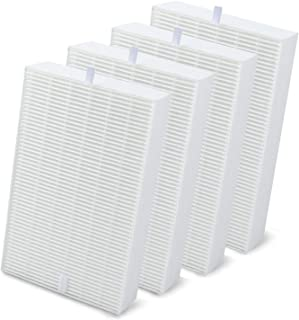 DerBlue 4pcs True HEPA Filter R HEPA Air Purifier Filters R Replacement for Honeywell HRF-R1 HRF-R2 & HRF-R3 Filter R