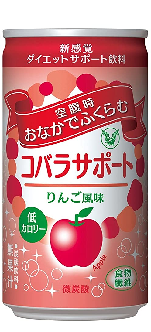 結論無意味ショッピングセンター大正製薬 コバラサポート りんご風味 1缶
