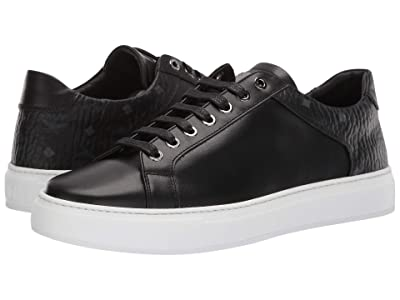 MCM Logo Combi Low Top Sneaker (Black) Men