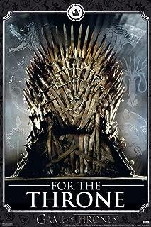 Pyramid America Game of Thrones for The Throne Sigils Season 8 Cool Wall Decor Art Print Poster 24x36