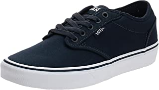 Vans Men's Atwood Trainers, Canvas Navy White, 7.5 UK
