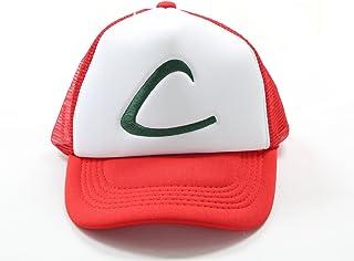 Xcoser Pokémon tapa Halloween de madera de fresno de disfraz de grupo de traje de Cosplay sombrero Ketchum