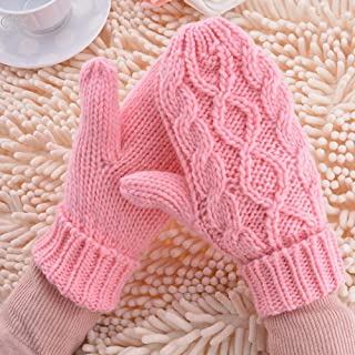 Warm Winter Gloves Women Mittens 8 Color Woman Ladies Lovely Knitted Gloves Girls Gift Gloves Girl Knitted Gloveswinter Gloves Women