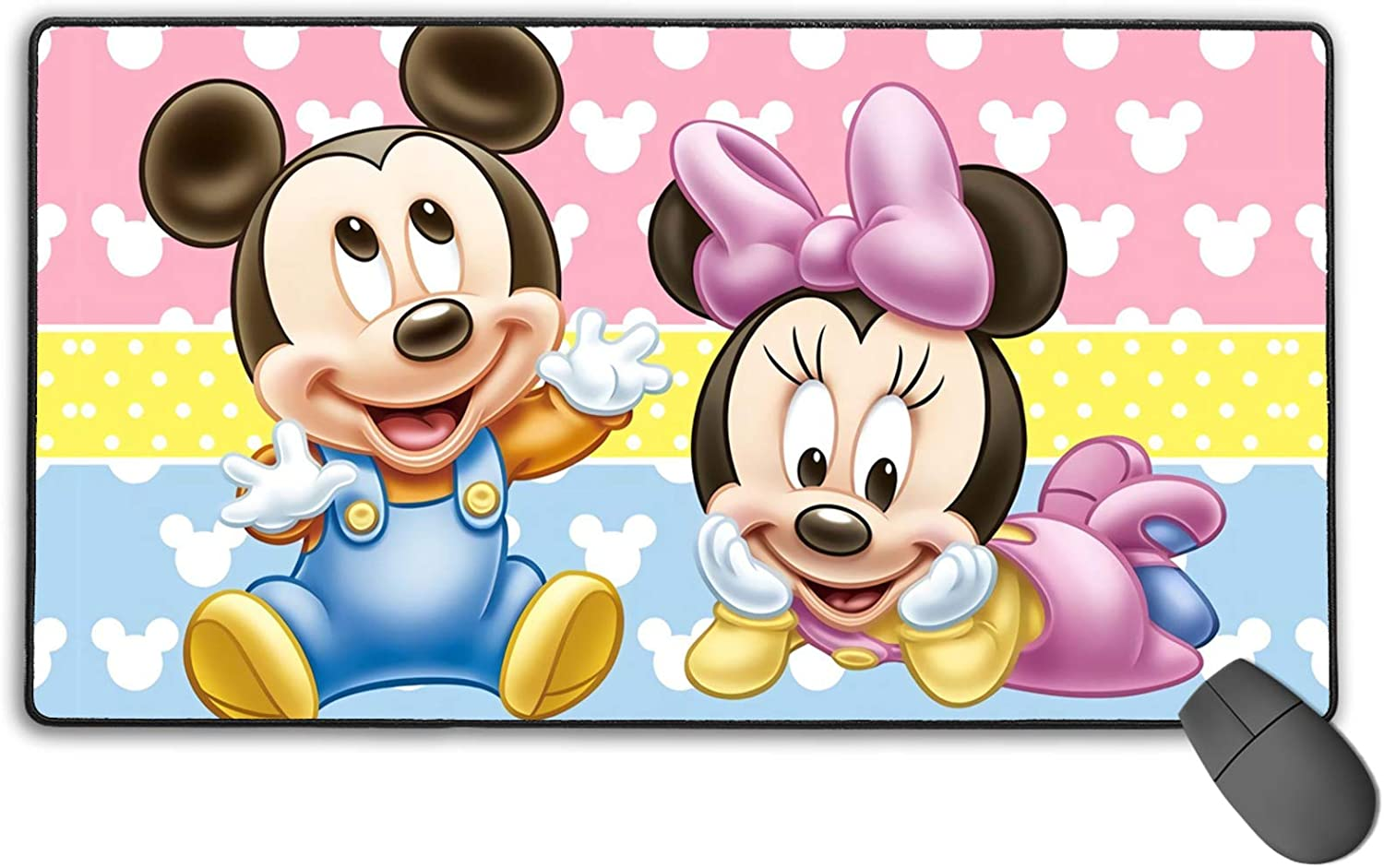 Mic-Key Mouse Pad Popular standard Office Supplies Max 82% OFF for Gaming